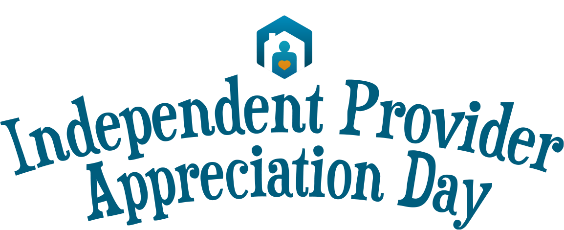 Logo of Independent Provider Appreciation Day.