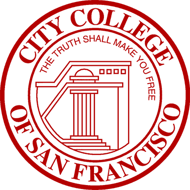 Logo of the San Francisco City College.